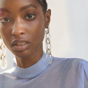 Clear Acrylic Earrings